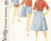 Wrap Around Skirt Pattern 1960s Simplicity 4899 (Womens size 14)
