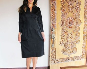 50s New York Vintage Black Dress