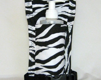 Made To Order - Animal Print Single Massage Oil Holster with Belt