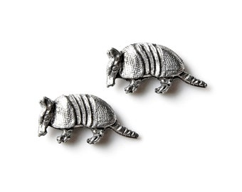Armadillo Cufflinks - Gifts for Men - Anniversary Gift - Handmade - Gift Box Included