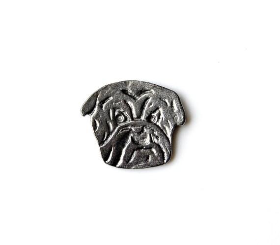 Bulldog Lapel P,in Gift Box Included, Guaranteed