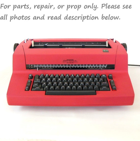 IBM Selectric II electric typewriter (replacement parts or repair)