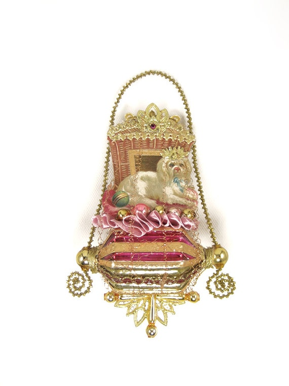 Victorian Christmas Ornament - Little Princess