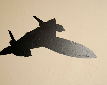 SR-71 Airplane v2 - Wall Decal