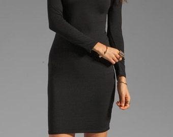 LITTLE BLACK DRESS Black Dresses Womens Dresses Off the shoulder Sexy Little Black Dress Long Sleeve Little Black Dress Sexy Black Dresses