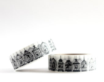 Assorted Bird Cages Washi Tape
