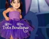 Toddler- Boo Monster Inspired Tutu Dress
