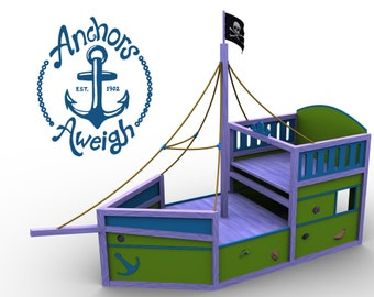 Torpedo boat etsy for Anchor decoration css