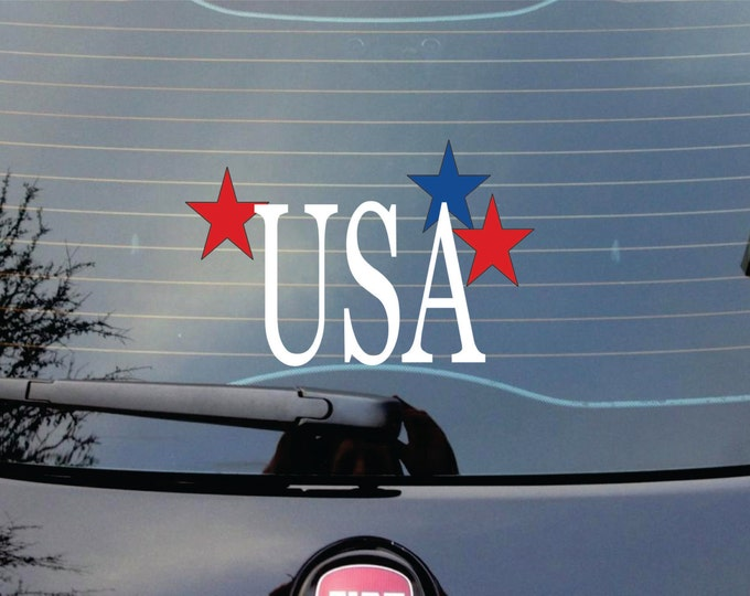 Monogram Car Decal -  Car Stickers for your Car - Small Wall Decals