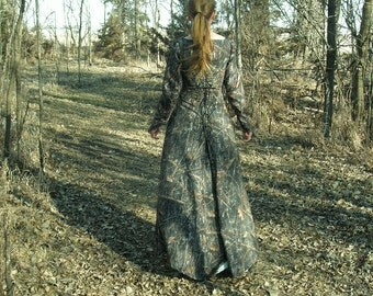Enchanting Forest Camouflage Gown--- Prom Dress, Camouflage Dress, Forest Camo, Hunting, Redneck Wedding, Forest Fairy Gown, Woodland Gown