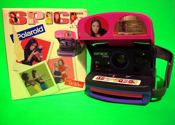 Vintage 90s Rare Spice Girls Polaroid Camera Electronics Collectibles Women Girls Home Decor Film Hipster Retro Fun