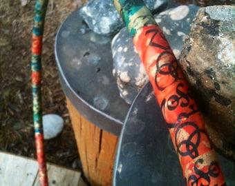 WHOLE LOTTA LOVE custom Hula Hoop - Led Zeppelin fabric