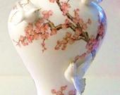 """Vintage Franklin Mint Porcelain """"Vase of the Emperor's Nightingale"""""""