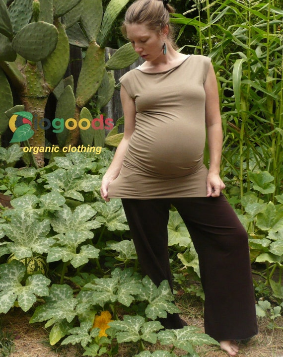 Bamboo/Organic Tunic - Perfect Maternity Wear