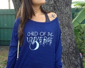 CHILD of the UNIVERSE Tri-Blend Light Weight Raglan Pullover