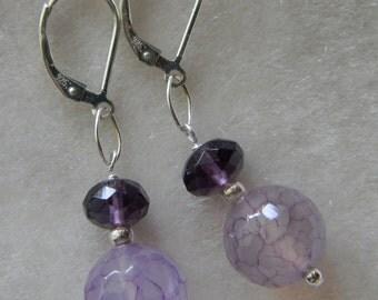Amethyst Earrings VALENTINE'S DAY Gift