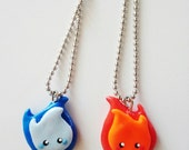 Fire Buddies- Matching Necklaces