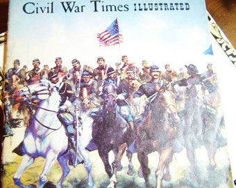Cival War Times Illustrated, August 1981, Civil war Magazine...North and South