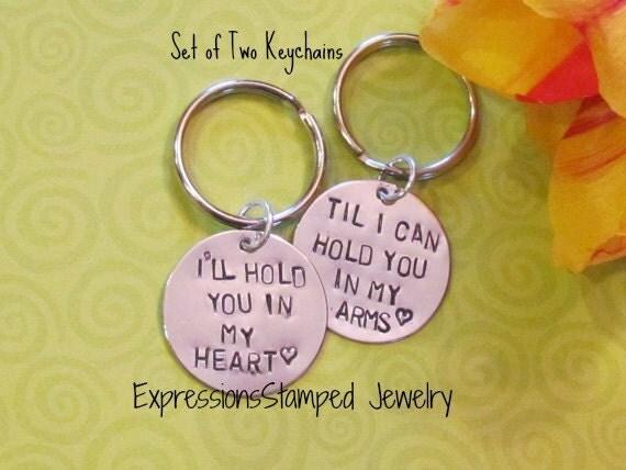 love quote keychain boyfriend girlfriend engagement