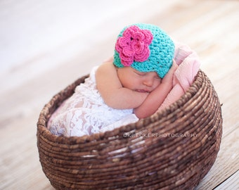 baby hat, girls hat, newborn hat, baby girl hat, newborn baby hat, newborn girls hat,  crochet baby hat