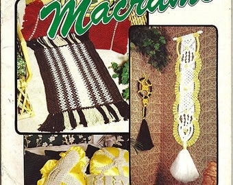 Decorate With  Macrame Pattern Book Taurus Publications 914