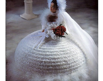 The Bridal Belle Collection Miss January  Fashion Doll  Crochet Pattern  Annies Attic