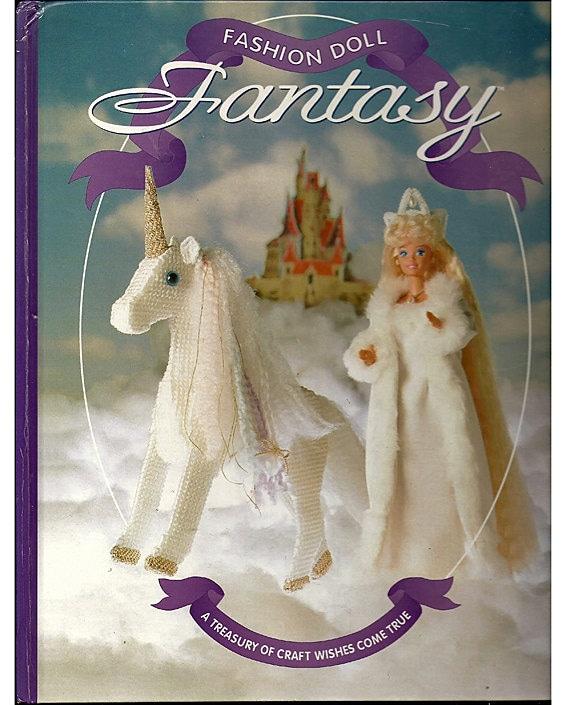 Fashion doll fantasy plastic canvas book the by grammysyarngarden