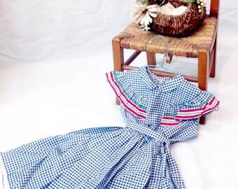 1940 girl dress // 40s dress // child dress // antique dress // girls dress // edwardian // 1940 dress