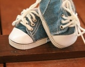 American Girl Doll Denim High Tops