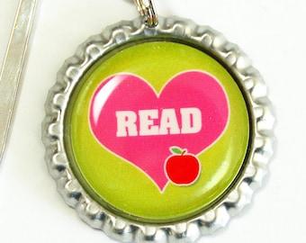 Teacher Bookmark, Teachers, Read, bookmark, book mark, Shepherd Hook, gift for teacher, teacher (2535)