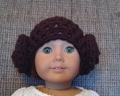 Doll Hat - Star Wars' Princess Leia-Inspired - Made-to-Order