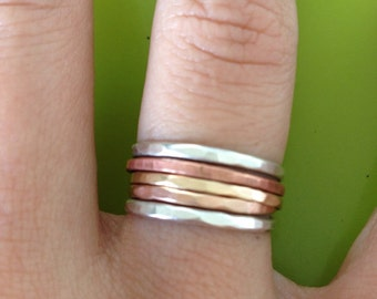 Stackable Rings: THIS STACK COMBO