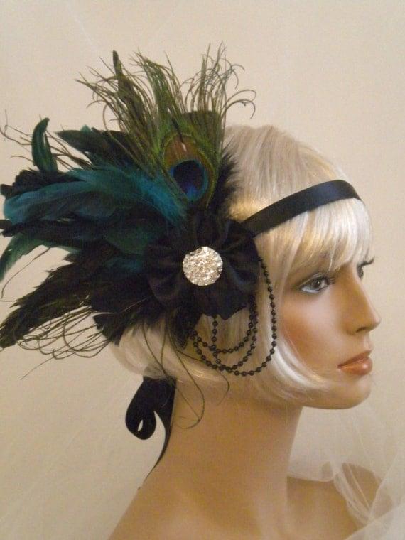 Flapper Headpiece Flapper Headpiece 1920's