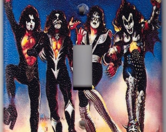 KISS  Destroyer Album Cover Switchplate Cover - Single Jumbo size (343)