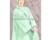 Plus Size (or any size) Vintage 1949 Jacket Sewing Pattern - PDF - Pattern No 65 Amelia