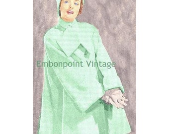 Plus Size (or any size) Vintage 1949 Jacket Sewing Pattern - PDF - Pattern No 65 Amelia