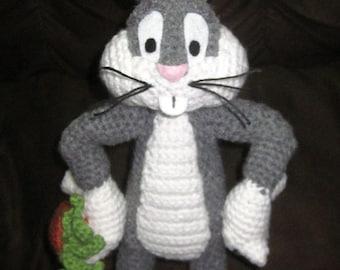 Amigurumi Bugs Bunny Yapilisi : STUFFED BUGS BUNNY CROCHET PATTERN Free Crochet Patterns