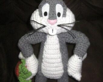 STUFFED BUGS BUNNY CROCHET PATTERN Free Crochet Patterns