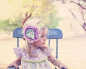 Baby Headbands- Matilda Jane Headband- Baby Girl Headband-Toddler Headband-Baby Girl Bows-Boutique Headbands-Good Hart-Coutre Baby