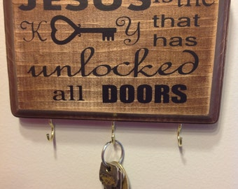 Jesus is the Key key holder