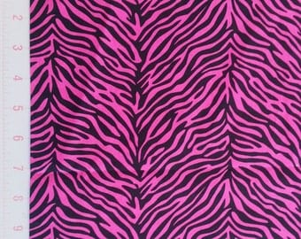 Pucci Tiger Pink and Black  -  by Springs Creative fabrics