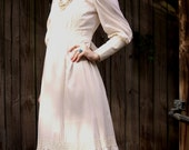 Vintage 1970s Gunne Sax Style Dress by Paper Moon