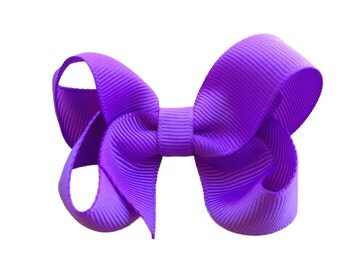 Lilac hair bow - lilac boutique bow, purple bow, toddler bow, purple girls bow, boutique bows, girls hair bows, purple hair bows, girls bows