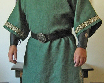 Medieval Celtic Viking Mid-Arms Sleeves Shirt Deluxe