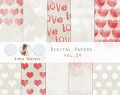 Digital Scrapbooking Papers pack,12x12in, jpg., 300dpi vol.14