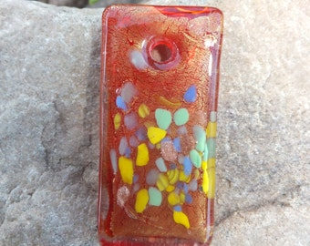 Glass Art Focal Bead