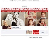 SALE Valentine's Day Facebook Timeline Cover - FB146 - Instant Download