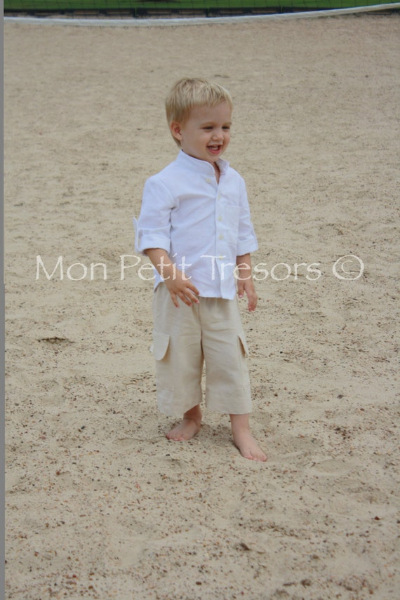Boys linen shirt and shorts set sizes 7 to 10 years ring for 7 year old boy shirt size