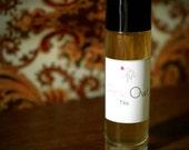 Pink Owl No. 4 - 1/3 oz Roll-on - Rose Geranium - Rose - Ylang Ylang - Jasmine - Petigrain - Artisan Perfume Oil - Creamy and Sharp Floral