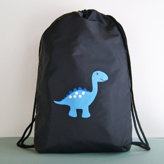 Items similar to Dinosaur Backpack : Boy's Handmade Nylon ...